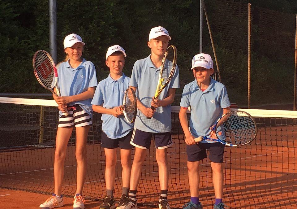 Midcourt-Kinder sichern sich den Meistertitel